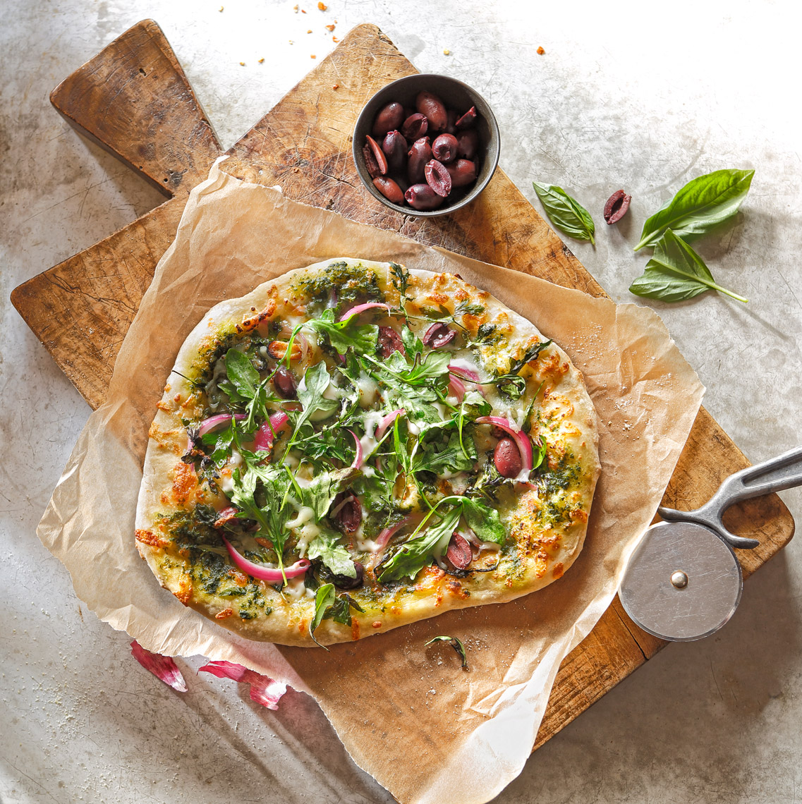 Arugula Pizza2