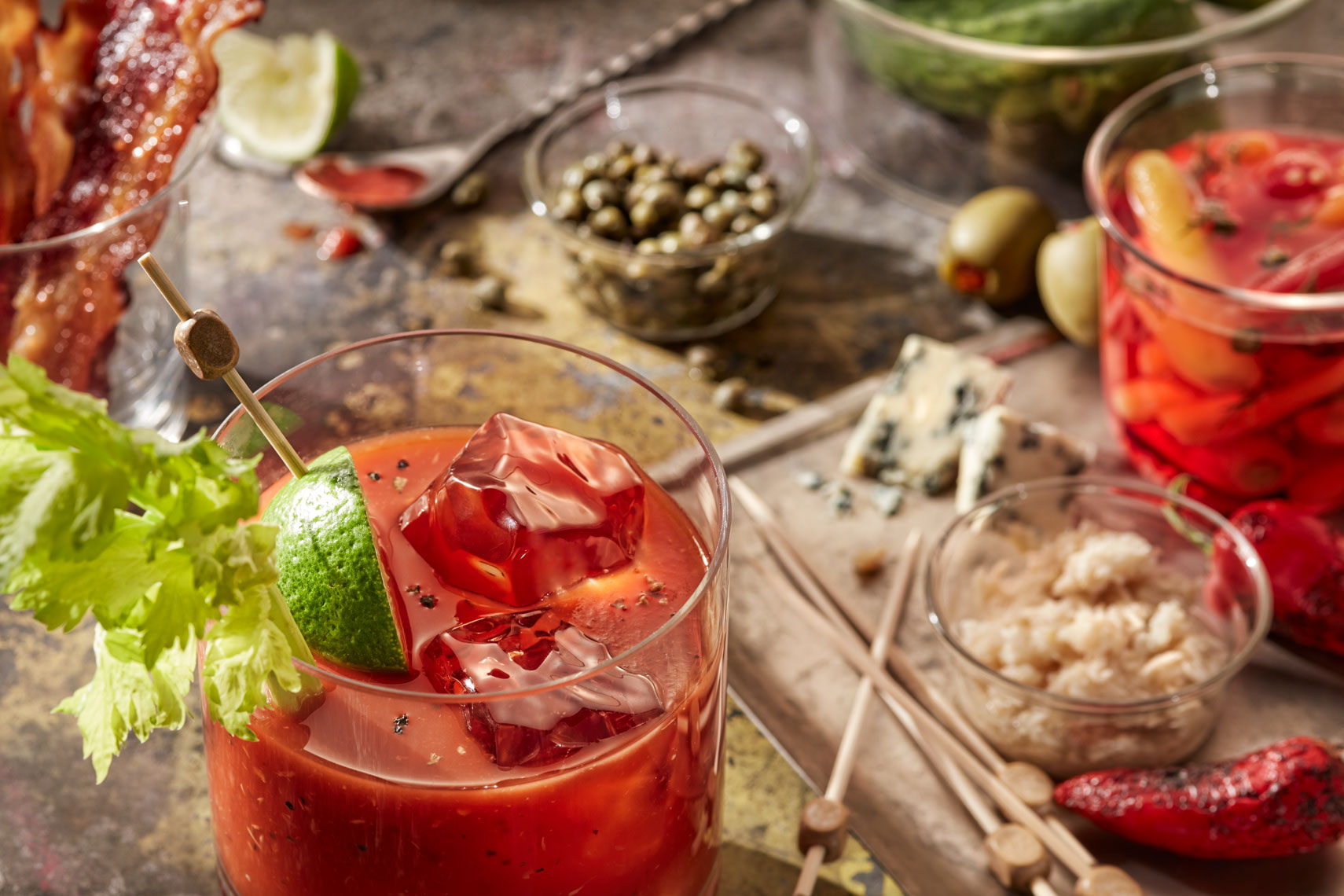 Bloody Mary Prep- Food Beverage Photography- © Aristo Studios