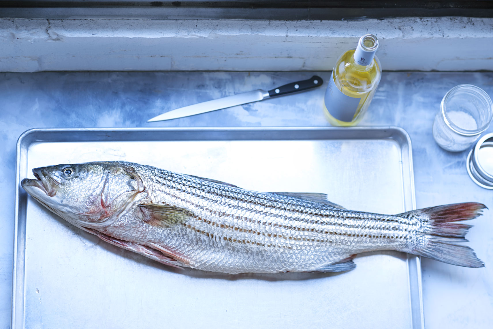 Whole Fish on Pan -Food Photography- © Aristo Studios