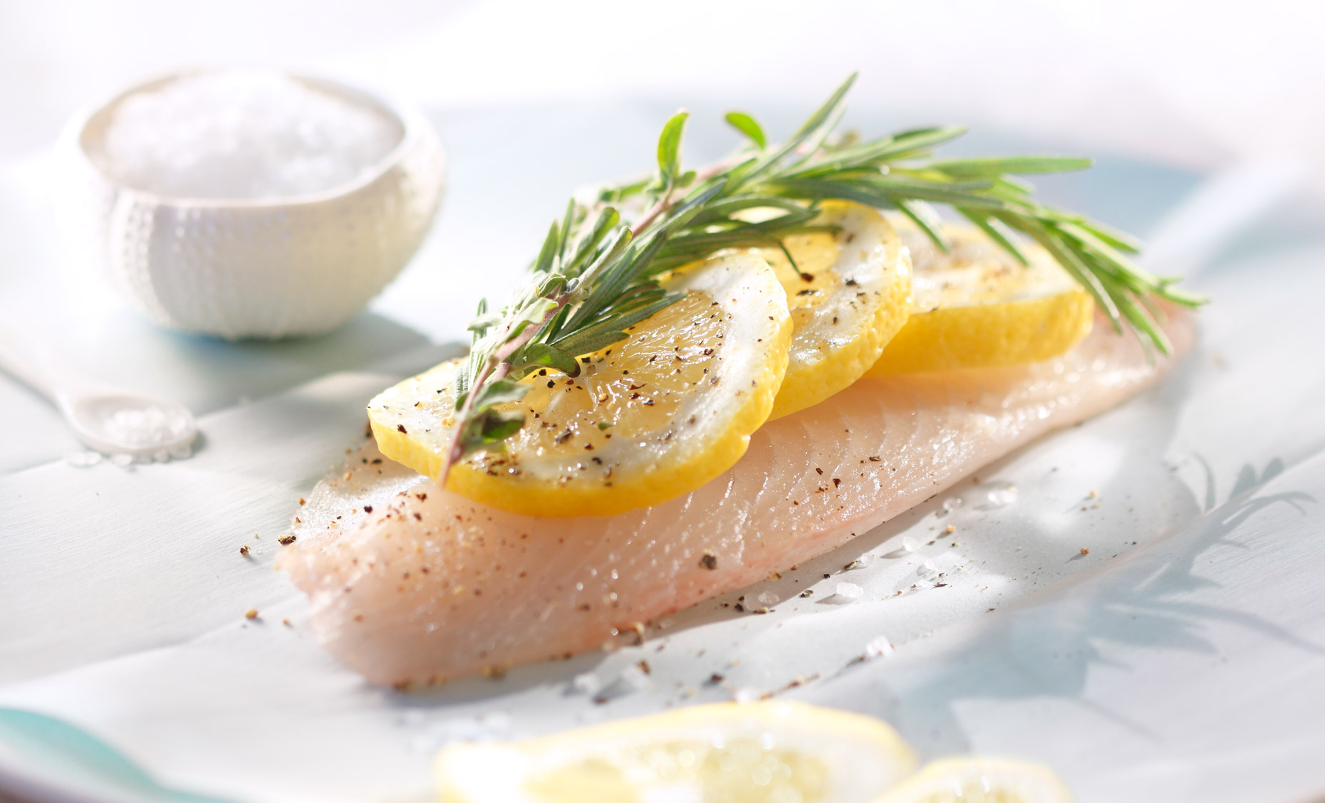 Poached Fish Food Photography- © Aristo Studios