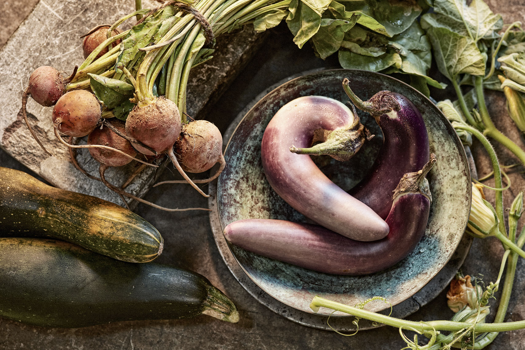 Eggplant and Beets  - Beverage Food  Photography- © Aristo Studios