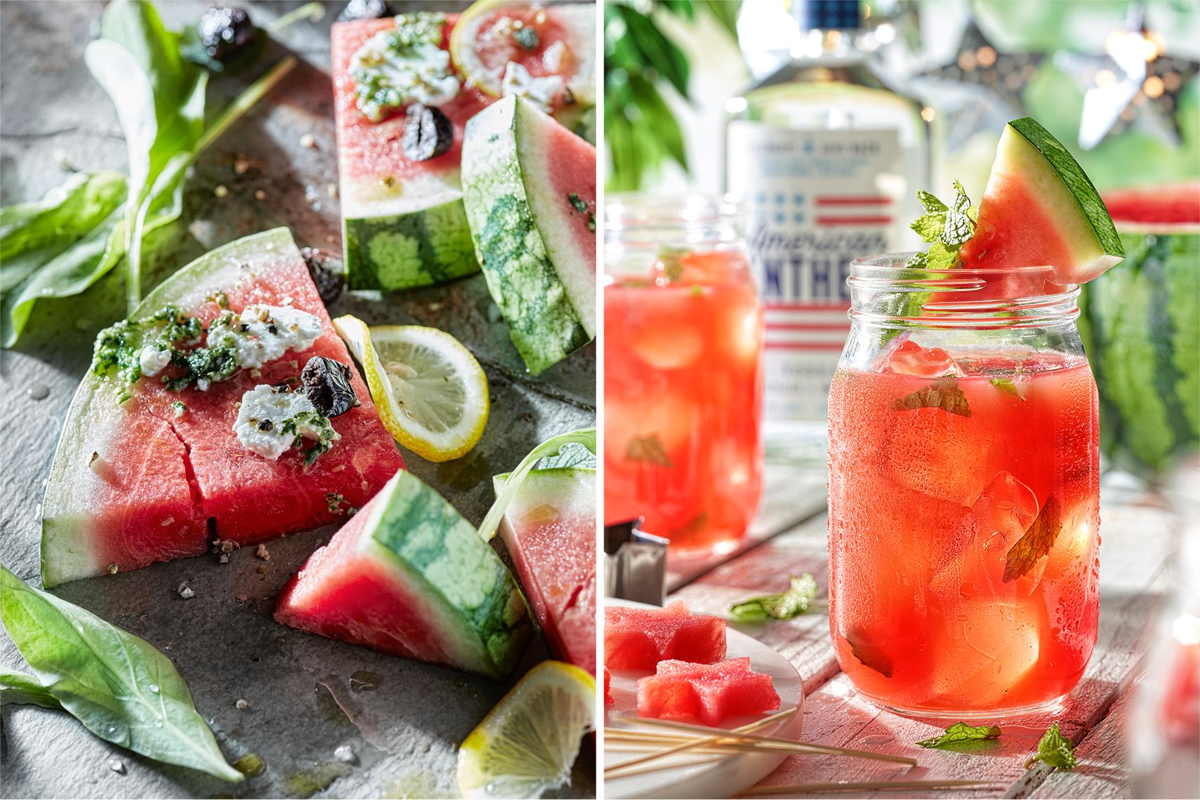 Watermelon Cocktail - Food Beverage Photography- © Aristo Studios