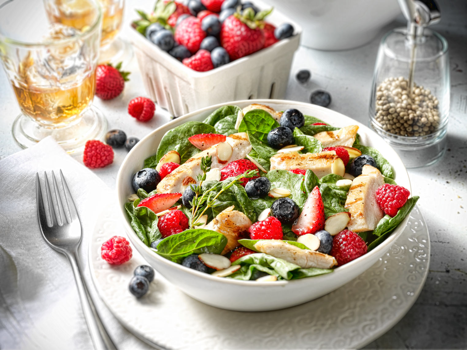 Berry Salad Food Photography- © Aristo Studios