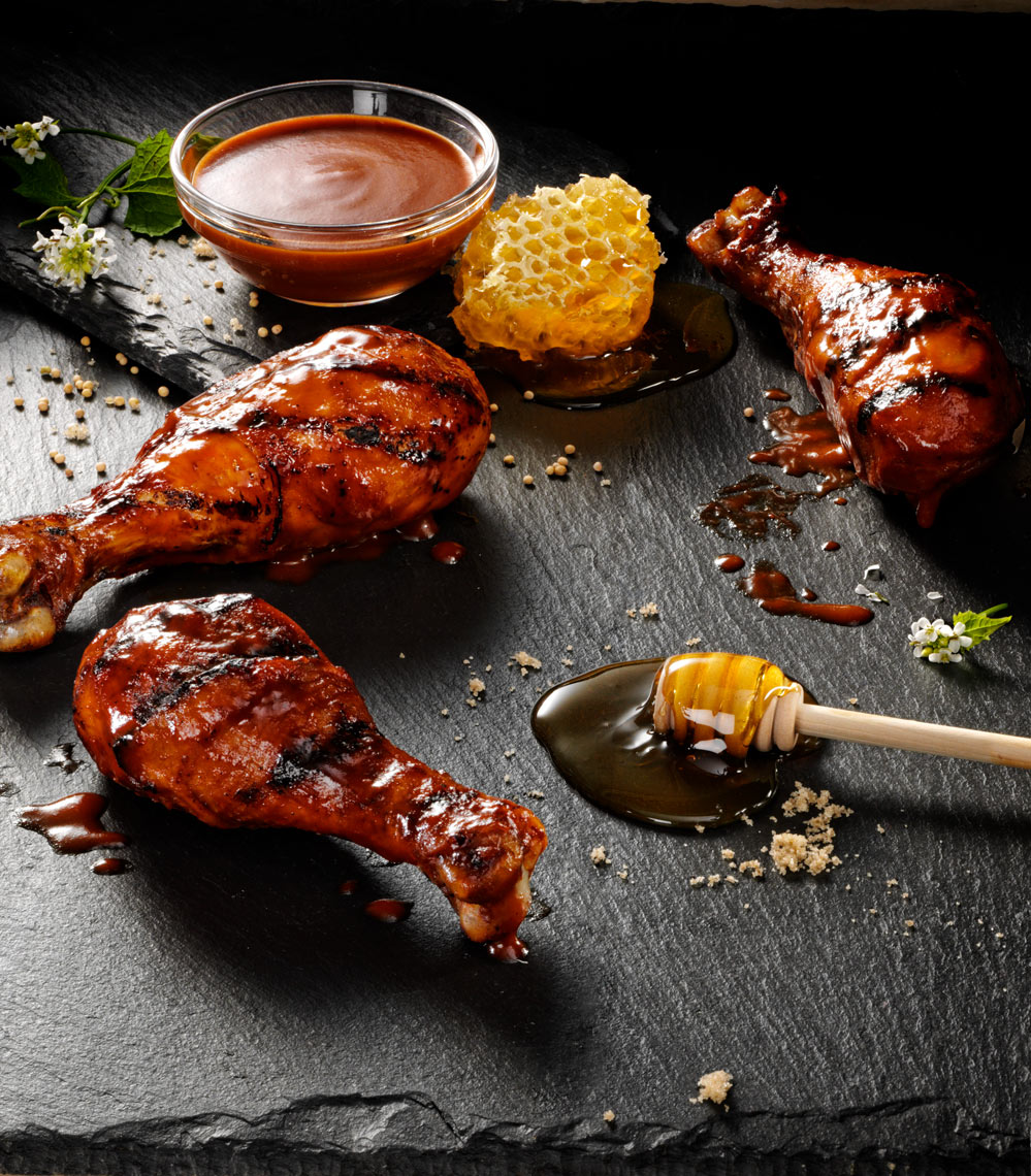 Grilled Chicken Legs Food Photography- © Aristo Studios