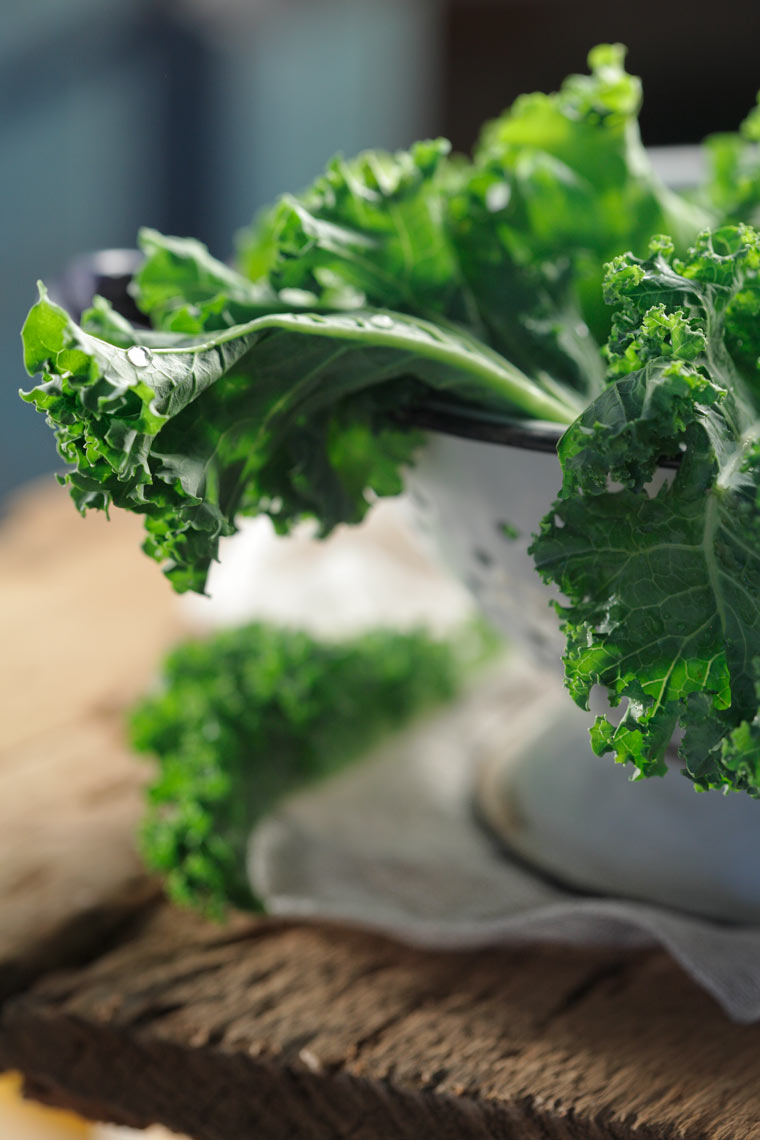 Kale Food Photography- © Aristo Studios