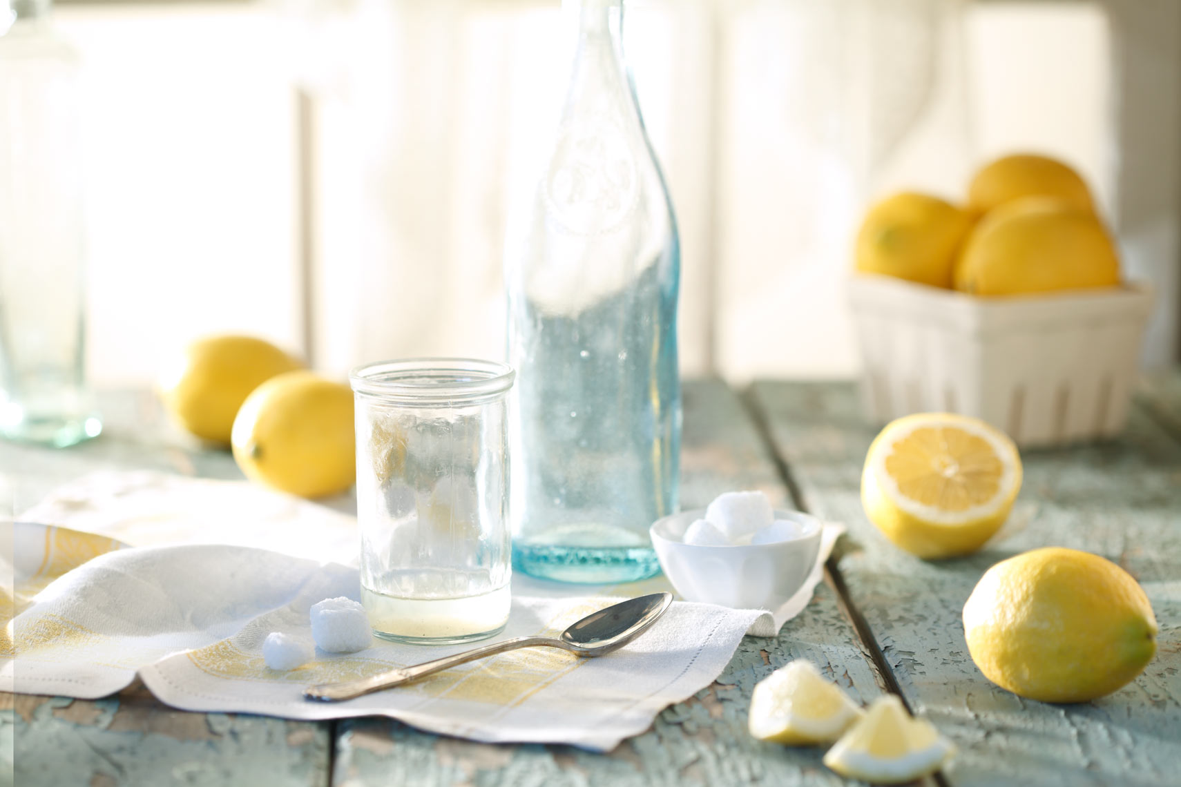 Lemon Bottle Still Life Food Beverage Photography- © Aristo Studios