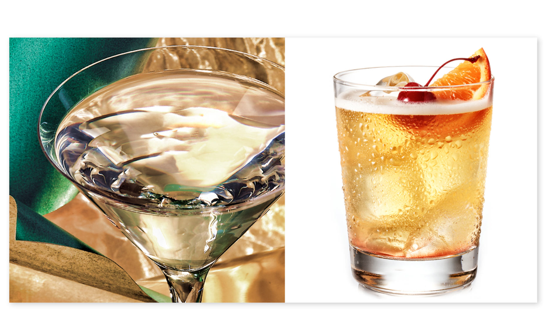 Martini and Cocktail-Beverage Food Photography- © Aristo Studios